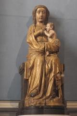 Eglise Saint-Mathieu - Deutsch: Katholische Kirche Saint-Mathieu in Morlaix im Département Finistère (Region Bretagne/Frankreich), Madonna mit Kind