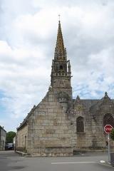 Eglise Saint-Pierre et chapelle funéraire - Deutsch: Katholische Pfarrkirche Saint-Pierre in Pleyber-Christ im Département Finistère (Region Bretagne/Frankreich)