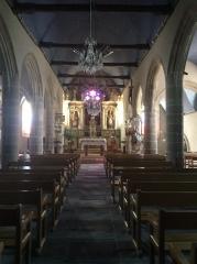 Eglise Saint-Etienne - Français:   Vue de l'autel