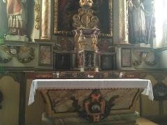 Eglise Saint-Etienne - Français:   L'autel