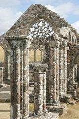 Ruines de la chapelle de Languidou - Deutsch: Ruine der Chapelle de Languidou nahe Plovan, Bretagne/Frankreich.