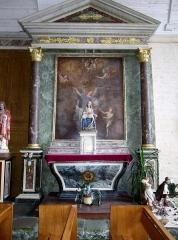 Eglise Saint-Demet - Français:   Plozévet, église paroissiale Saint-Démet: autel latéral.