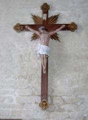 Eglise Saint-Demet - Français:   Plozévet, église paroissiale Saint-Démet: Christ en croix.