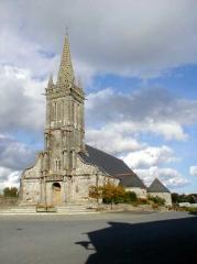 Eglise Saint-Pierre et Saint-Paul - Brezhoneg: Poullaouen. Gwelet an iliz, korn war-zu Mervent
