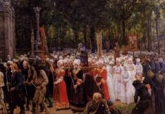 Chapelle Notre-Dame de Kergoat - French painter, writer and poet Realism era QS:P2348,Q10857409
