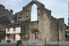 Ancienne abbaye de Saint-Colomban - Deutsch:   Ruinen der Abtei Saint-Colomban in Quimperlé im Département Finistère (Region Bretagne/Frankreich)