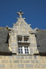 Maison dite de Marie Stuart - Deutsch: Dachgaube in Roscoff im Département Finistère (Region Bretagne/Frankreich)