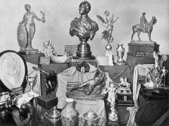 Manoir de la Haye - Les divers trophées decernés lors des JO de 1912.