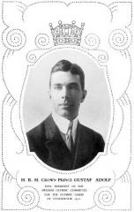 Manoir de la Haye - Prince Gustaf Adolf, Président du Comité Olympique Suédois en 1912.