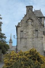 Maison prébendale - Deutsch: Maison prébendale, Place du Petit-Cloître, in Saint-Pol-de-Léon im Département Finistère (Region Bretagne/Frankreich)