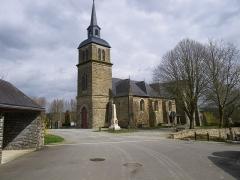 Eglise Saint-Martin de Tours -  l'eglise d'amanlis
