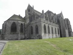 Ancienne cathédrale Saint-Samson - Chevet de la cathédrale Saint-Samson de Dol-de-Bretagne (35).
