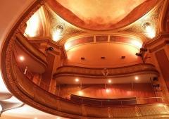 Théâtre municipal - Théâtre Victor Hugo de Fougères (35) Intérieur.