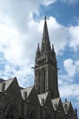 Eglise Notre-Dame - Deutsch: Basilika Notre-Dame-de-l'Assomption in La Guerche-de-Bretagne im Département Ille-et-Vilaine (Bretagne/Frankreich)