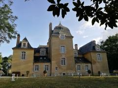 Château du Bois-Glaume - Français:   Arrière du Château du Bois Glaume