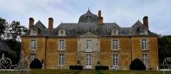 Château du Bois-Glaume - Français:   Facade du Château