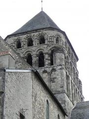 Ancienne abbaye Saint-Sauveur - de l'abbatiale Saint-Sauveur de Redon (35).