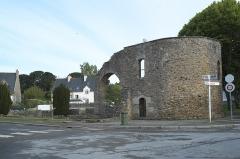 Cathédrale Saint-Pierre d'Aleth - Deutsch: Ehemalige Kathedrale Saint-Pierre auf der Halbinsel Aleth in Saint-Servan, einem Ortsteil von Saint-Malo im Département Ille-et-Vilaine (Region Bretagne/Frankreich)