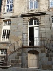 Hôtel Magon de la Lande dit hôtel d'Asfeld - Français:   Hôtel Magon de la Lande, Saint-Malo.