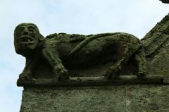 Chapelle Sainte-Anne - Français:   Chapelle Sainte-Anne (Buléon): figure animale au nord de la façade