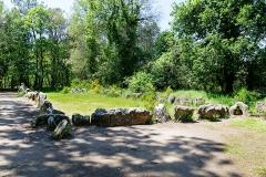 Tumulus dit du Manio, quadrilatère et menhir de Manio - Français:   Quadrilatère de Manio. (Carnac, Morbihan, Bretagne, France)