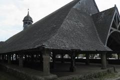 Vieilles halles - Deutsch: Markthalle in Le Faouët im Département Morbihan (Region Bretagne/Frankreich)