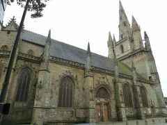 Eglise Notre-Dame-de-Paradis et ses abords - Français:   nef extérieur