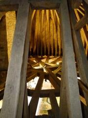 Porte-prison (anciennement porte de Broérech) - Français:   Vue générale de la charpente