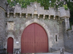 Château - Château de Josselin (Morbihan, France), portail d'entrée nord-est