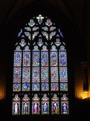 Eglise Notre-Dame-du-Roncier - Basilique Notre-Dame-du-Roncier de Josselin (Morbihan, France): maîtresse-vitre