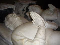 Eglise Notre-Dame-du-Roncier - Basilique Notre-Dame-du-Roncier de Josselin (Morbihan, France): tombeau d'Olivier de Clisson et de Marguerite de Rohan