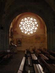 Eglise ou chapelle Notre-Dame - Transept sud de la chapelle Notre-Dame de Kernascléden (56).