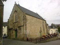 Chapelle de la Congrégation, ou chapelle Notre-Dame de Plasquer -  Morbihan Locmine Chapelle Congregation 24102013