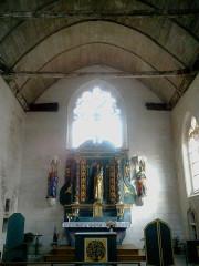Chapelle de la Congrégation, ou chapelle Notre-Dame de Plasquer -  Morbihan Locmine Chapelle Congregation Choeur