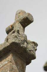 Eglise Notre-Dame-de-Joie - Église Notre-Dame-de-Joie de Merlevenez, France. Clocher: détail.