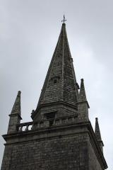 Eglise Saint-Cyr - Français:   Église Saint-Cyr (Moréac): clocher