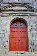 Eglise Saint-Cyr - Français:   Église Saint-Cyr (Moréac): porte principale à l\'ouest