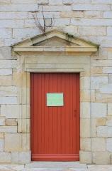 Eglise Saint-Cyr - Français:   Église Saint-Cyr (Moréac): porte secondaire au sud