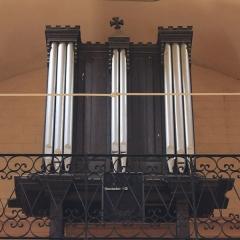 Eglise Saint-Cyr - Français:   Église Saint-Cyr (Moréac): orgue