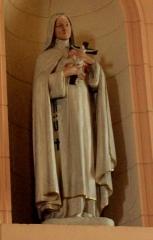Eglise Saint-Cyr - Français:   Église Saint-Cyr (Moréac): statue