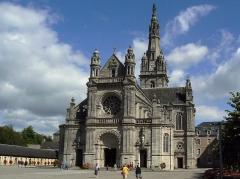 Site de la basilique de Sainte-Anne-d'Auray - Basilique Sainte-Anne d'Auray (extérieur)