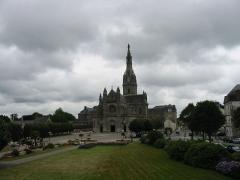 Site de la basilique de Sainte-Anne-d'Auray - English: Church in Britany (France)
