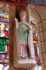 Chapelle de Saint-Gobrien - Chapelle Saint-Gobrien de Saint-Servant: retable sud