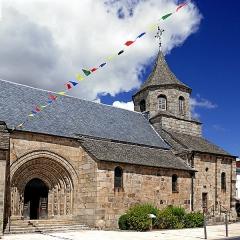 Eglise Saint-Fargheon -  Église romane Saint-Fargheon, du XII e siècle.