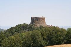Ruines du château fort - Français:   Ruines du château fort de Murol (Puy-de-Dôme, France)