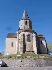 Eglise Notre-Dame - English:   Vergheas (Puy-de-Dôme) église chevet