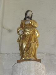 Eglise Notre-Dame - English:   Vergheas (Puy-de-Dôme) église statue du Christ