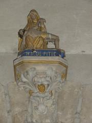 Eglise Notre-Dame - English:   Vergheas (Puy-de-Dôme) église statue Pieta