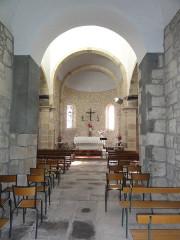Eglise Saint-Maurice - English: Saint-Maurice-près-Pionsat (Puy-de-Dôme) église intérieur