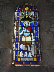 Eglise Saint-Maurice - English: Saint-Maurice-près-Pionsat (Puy-de-Dôme) église vitrail